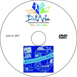 Delaware Arts Conservatory 2017 Recitals, Sunday, June 11, 2017 12:00 & 5:00 Shows DVD / Blu-ray