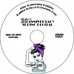 """Dancing Lights Ballet School """"2017 Recitals,"""" Saturday, June 17, 2017, 10:00 & 1:30 DVD / Blu-ray"""