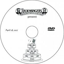 """Ardensingers """"The Grand Duke,"""" Friday, April 28, 2017 DVD / Blu-ray"""