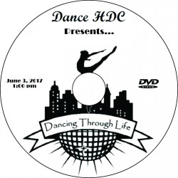 "Dance HDC ""2017 Performances,"" Saturday, June 3, 2017, 1:00, 4:00 & Combo Show DVD / Blu-ray"