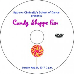 "Kathryn Ciminello School of Dance ""Recital 2017,"" May 21, 2017 DVD / Blu-ray"