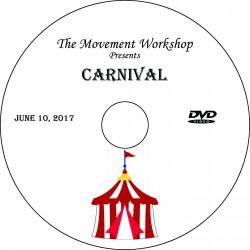 "The Movement Workshop ""Recital 2017,"" June 10, 2017 DVD / Blu-ray"