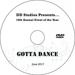 "DanceDelaware Studios ""10th Annual Event of the Year,"" Friday & Saturday, June 16 & 17, 2017 Shows DVD / Blu-ray"