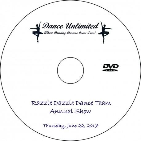 "Dance Unlimited ""2017 Dance Team Show,"" Thursday, June 22, 2017 DVD / Blu-ray"