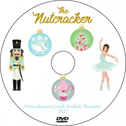 "Providence Creek Ballet Theater ""The Nutcracker,"" Saturday, December 9, 2017 DVD / Blu-ray"