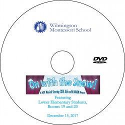 "Wilmington Montessori School ""6-9 Winter Concert,"" Friday, December 15, 2017 DVD / Blu-ray"
