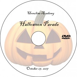"Ursuline Academy ""Halloween Parade,"" Friday, October 27, 2017 DVD / Blu-ray"