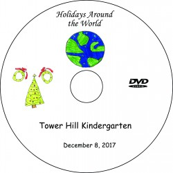 Tower Hill School Kindergarten Show, Friday, December 8, 2017 DVD / Blu-ray