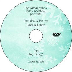 Tatnall Preschool Tree Trim, Friday, December 8, 2017 DVD / Blu-ray
