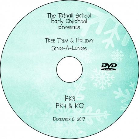 Tatnall Preschool Tree Trim, Friday, December 8, 2017 DVD / Blu-ray