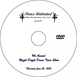 "Dance Unlimited ""2015 Dance Team Show,"" Thursday, June 25, 2015 DVD"