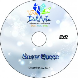 "Delaware Arts Conservatory ""Snow Queen,"" Sunday, December 10, 2017 DVD / Blu-ray"
