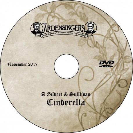 "Ardensingers ""A Gilbert & Sullivan Cinderella,"" Saturday, November 18, 2017 Evening Show DVD / Blu-ray"