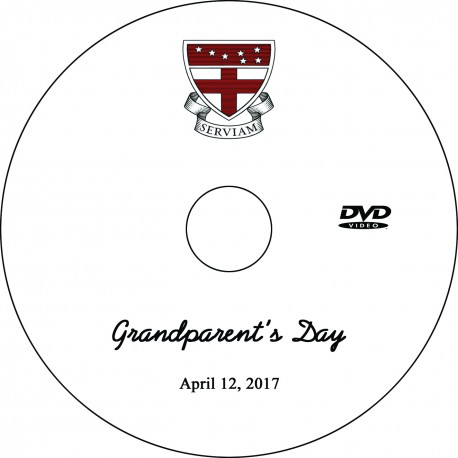 "Ursuline Academy ""Grandparents' Day,"" Wednesday, April 12, 2017 DVD / Blu-ray"