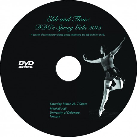"Delaware Dance Company ""Spring Gala,"" Saturday, March 28 & Sunday, March 29 2015 Show DVDs"