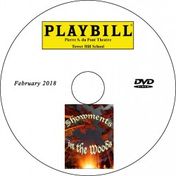 """Tower Hill School 8th Grade """"Showments in the Woods,"""" Thursday, February 15, 2018 Evening Show DVD / Blu-ray"""