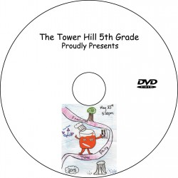 """Tower Hill School 5th Grade """"Fractured Fairy Tales,"""" Wednesday, May 23, 2018 DVD / Blu-ray"""