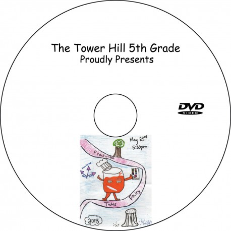 """Tower Hill School 5th Grade """"Fractured Fairytales,"""" Wednesday, May 23, 2018 DVD / Blu-ray"""
