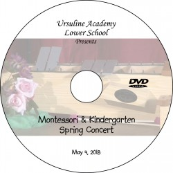 "Ursuline Academy ""Spring Recorder Concert,"" Friday, May 4, 2018 DVD / Blu-ray"