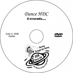 "Dance HDC ""2018 Performances,"" Sunday, June 3, 2018, 1:00, 4:00 & Combo Show DVD / Blu-ray"