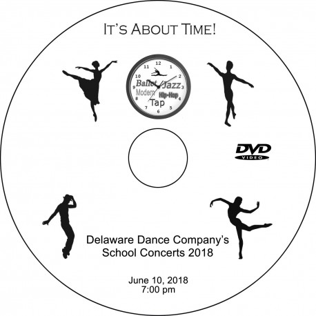 "Delaware Dance Company ""2018 School Concerts,"" Sunday, June 10, 2018, 1:00, 4:00 & 7:00 DVD / Blu-ray"