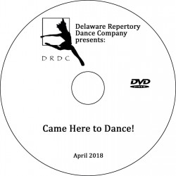 "Delaware Repertory Dance Company ""Spring Showcase 2018,"" Sunday, April 22, 2018 DVD / Blu-ray"