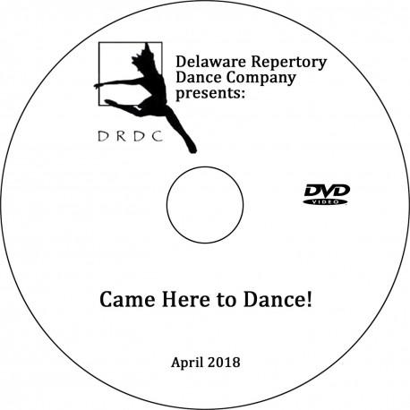 "Delaware Repertory Dance Company ""Spring Showcase 2018,"" Sunday, April 22, 2018 DVD / Blu-ray"