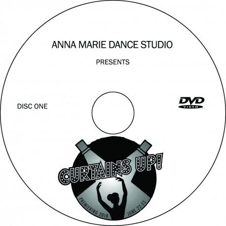 "Anna Marie Dance Studio ""2018 Recital,"" Friday, June 22, 2018 DVD / Blu-ray"