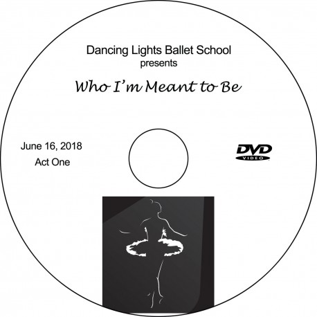 "Dancing Lights Ballet School ""2018 Recitals,"" Saturday, June 16, 2018, 10:00 & 2:30 DVD / Blu-ray"