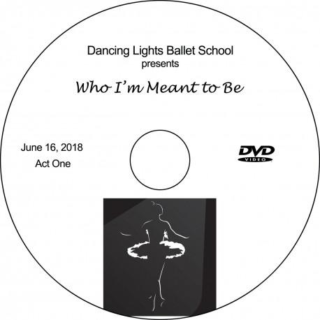 """Dancing Lights Ballet School """"2018 Recitals,"""" Saturday, June 16, 2018, 10:00 & 2:30 DVD / Blu-ray"""