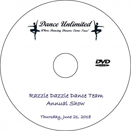 "Dance Unlimited ""2018 Dance Team Show,"" Thursday, June 21, 2018 DVD / Blu-ray"