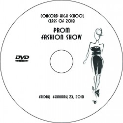 "Concord High School ""Prom Fashion Show,"" Friday, February 23, 2018 DVD"