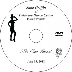 "Delaware Dance Center ""Be Our Guest"" Recital, Friday, June 15, 2018 DVD / Blu-ray"