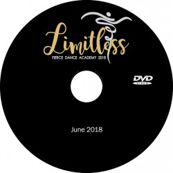 "Fierce Dance Academy ""Limitless,"" Friday & Saturday, June 15 & 16, 2018 Recital DVD / Blu-ray"