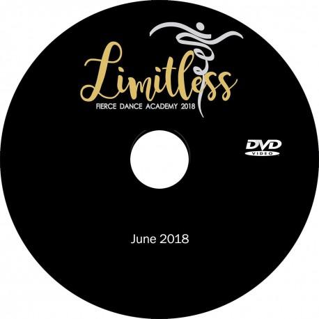"Fierce Dance Academy ""2018 Recital,"" Friday & Saturday, June 15 & 16, 2018 Shows DVD / Blu-ray"