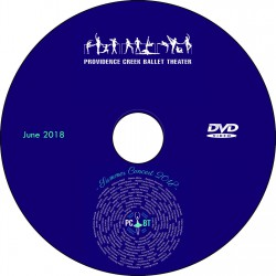 "Providence Creek Ballet Theater ""Summer Concert 2018,"" Saturday, June 16 & Sunday, June 17, 2018 DVDs / Blu-rays"