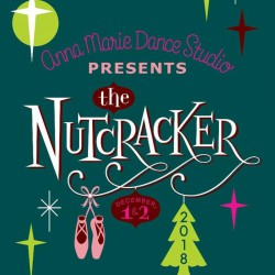 "Anna Marie Dance Studio ""The Nutcracker,"" Sunday, December 2, 2018 DVD / Blu-ray"