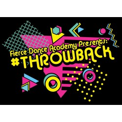 "Fierce Dance Academy ""Throwback,"" Saturday, June 1, 2019 Recital DVD / Blu-ray"