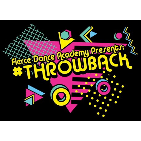 "Fierce Dance Academy ""Throwback,"" Saturday, June 1, 2019 Recital DVD / Blu-ray"