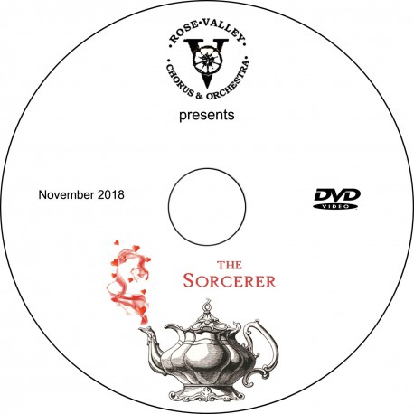 """Rose Valley Chorus & Orchestra """"The Sorcerer,"""" Saturday, November 17, 2018 Evening Show DVD / Blu-ray"""