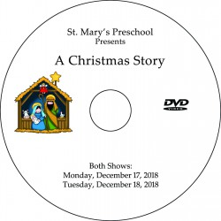 "Saint Mary of the Assumption EEP ""Christmas Pageant,"" Two-Show (December 17 & 18, 2018) DVD / Blu-ray"