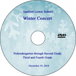 Sanford School: Lower School Winter Concerts, Wednesday, December 19, 2018 DVD / Blu-ray