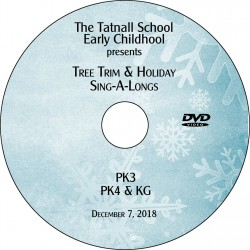 Tatnall School: Early Childhood Tree Trim, Friday, December 7, 2018 DVD / Blu-ray