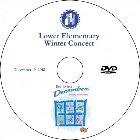 "Wilmington Montessori School ""6-9 Winter Concert,"" Wednesday, December 19, 2018 DVD / Blu-ray"