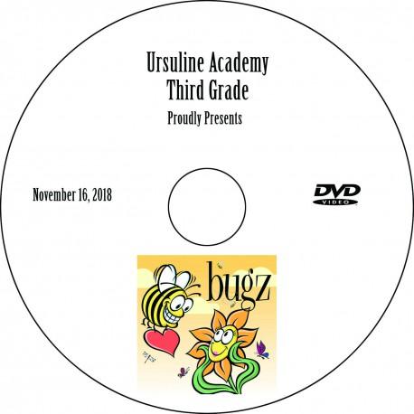 Ursuline Academy Third Grade Play, Friday, November 16, 2018 DVD / Blu-ray