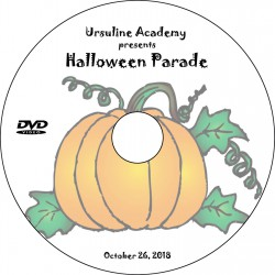 "Ursuline Academy ""Halloween Parade,"" Friday, October 26, 2018 DVD / Blu-ray"