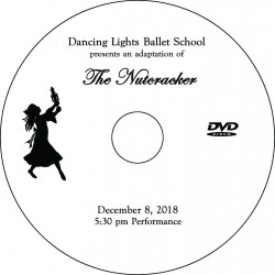 "Dancing Lights Ballet School ""The Nutcracker,"" Saturday, December 8, 2018, 5:30 Show DVD / Blu-ray"