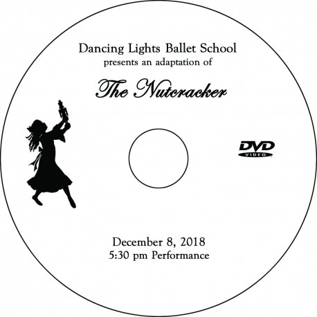 "Dancing Lights Ballet School ""The Nutcracker,"" Saturday, December 8, 2018, 5:30 Show DVD / Blu-ray"