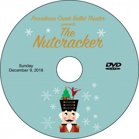 "Providence Creek Ballet Theater ""The Nutcracker,"" Saturday & Sunday, December 8 & 9, 2018 Shows DVD / Blu-ray"