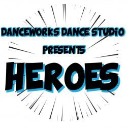 """Danceworks Dance Studio 2019 """"Heroes"""" Recital - Extra DVDs/Blu-ray Discs"""